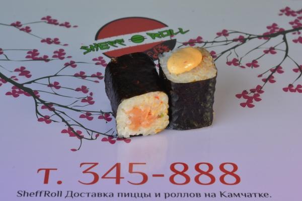 Хосомаки спайс с лососем