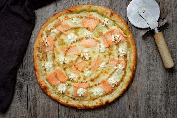 Пицца Лосось Филадельфия